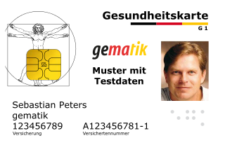 Electronic Health Insurance Card Germany