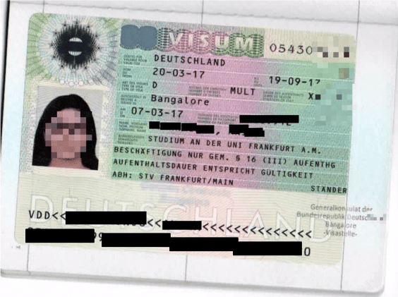 Student visa for Germany Schengen states